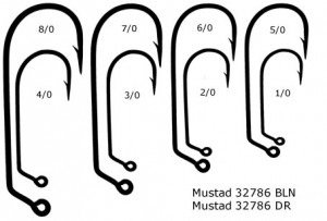 Mustad Treble Hooks